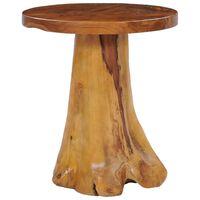 vidaXL kafijas galdiņš, 40x40 cm, masīvs tīkkoks