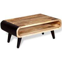 vidaXL kafijas galdiņš, 90x55x39 cm, mango koks