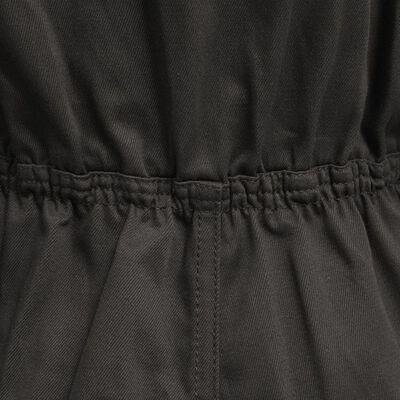 vidaXL bērnu kombinezons, 98/104. izmērs, pelēks