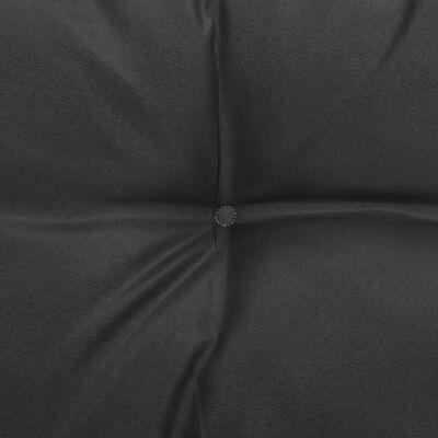 vidaXL dārza stūra dīvāns ar pelēkiem matračiem, priedes masīvkoks