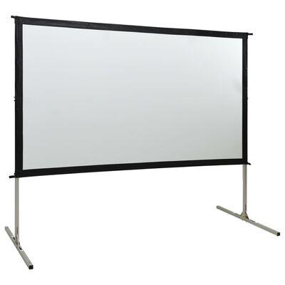 """vidaXL projekcijas ekrāns, 100"""", 16:9, ātri saliekams"""