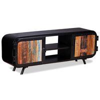 vidaXL TV skapītis, 120x30x45 cm, pārstrādāts koks