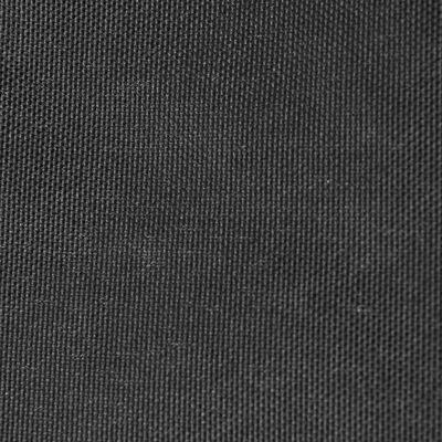 vidaXL balkona aizslietnis, 75x400 cm, pelēks oksforda audums