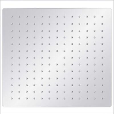vidaXL lietus dušas galva, nerūsējošais tērauds, 30x30 cm, kvadrāta
