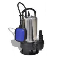 vidaXL Netīrā ūdens iegremdējamais sūknis 750 W 12500 L/h