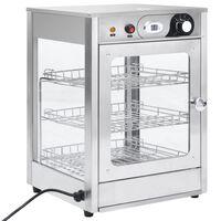 vidaXL elektrisks ēdienu sildītājs Gastronorm, 600 W, tērauds