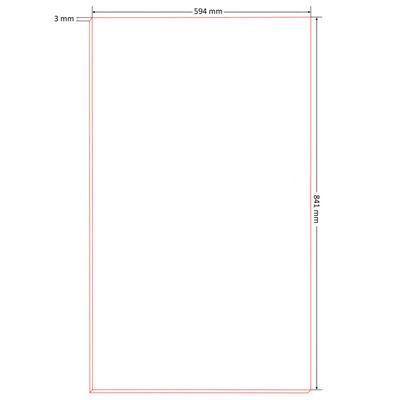 vidaXL ziņojumu dēļi, 10 gab., DIN A1, HDF, 841x594x3 mm