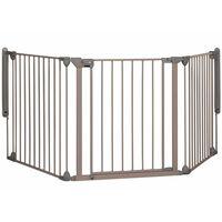 Safety 1st bērnu drošības sēta, Modular 3, pelēka, 82-214 cm, 24226580