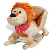 vidaXL bērnu šūpuļkrēsliņš, lauva