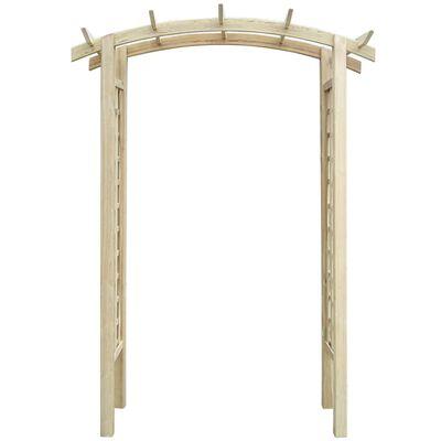 vidaXL špaleru arka, 150x50x220 cm, koks