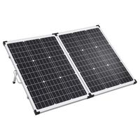 vidaXL salokāms saules panelis, pārnēsājams, 120 W, 12 V