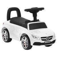 vidaXL stumjams rotaļu auto, Mercedes-Benz C63, balts