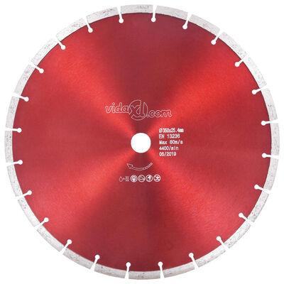 vidaXL dimanta griešanas disks, tērauds, 350 mm