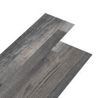 vidaXL grīdas dēļi, pašlīmējoši, 4,46 m², 3 mm, industriāla koka PVC