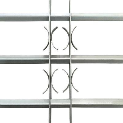 Regulējama logu drošības reste ar 3 stieņiem, 1000 - 1500 mm