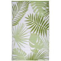 Esschert Design āra paklājs, 241x152 cm, džungļu lapu dizains, OC22