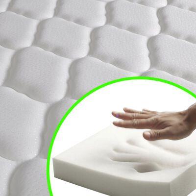 vidaXL matracis ar atmiņas efekta putām, 200 x 160 x 17 cm