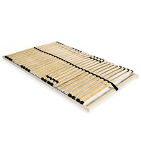 vidaXL gultas redeles, 28 līstītes, 7 zonas, 100x200 cm