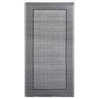vidaXL āra paklājs, 80x150 cm, pelēks PP