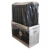 Nature komposta kaste, 1200 L, melna 6071483