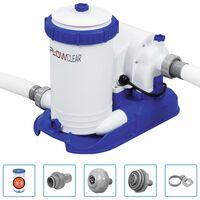 Bestway Flowclear baseina filtra sūknis, 9463 L/h