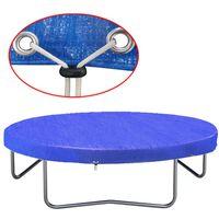 vidaXL batuta pārklājs, PE, 450-457 cm, 90 g/m²