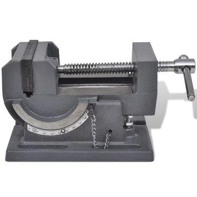 vidaXL ar roku darbināmas skrūvspīles, paceļamas, 110 mm