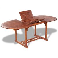 vidaXL dārza galds, 200x100x74 cm, akācijas masīvkoks