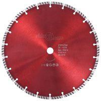 vidaXL dimanta griešanas disks, ar turbo, tērauds, 300 mm