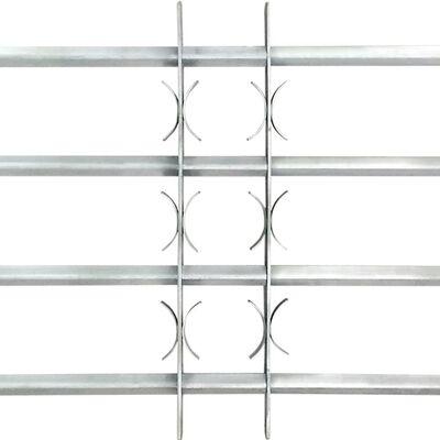 Regulējama logu drošības reste ar 4 stieņiem, 1000 - 1500 mm