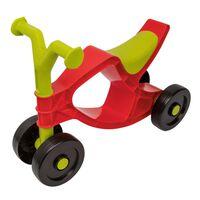 BIG Flippi līdzsvara velosipēds, sarkans ar zaļu