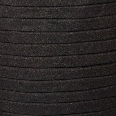 Capi olveida puķu kaste Nature Row, 35x34 cm, melna, KBLRO932