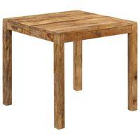 vidaXL virtuves galds, mango masīvkoks, 82x80x76 cm