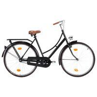 """vidaXL sieviešu velosipēds, holandiešu stils, 28"""", 57 cm rāmis"""