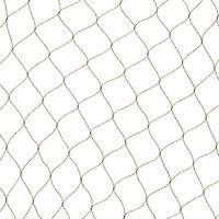 Nature putnu tīkls Primo, 10x10m, melns, 6030407