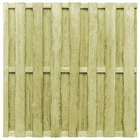 vidaXL žoga panelis, priedes koks, 180x180 cm, zaļš