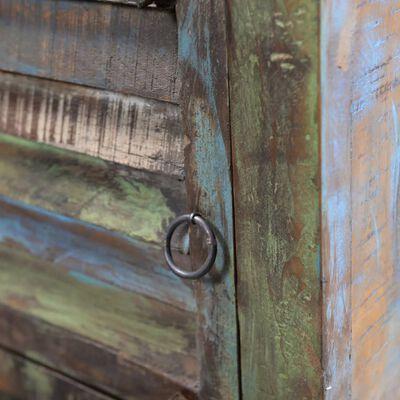 vidaXL skapītis ar atvilktni un durvīm, pārstrādāts koks