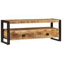 vidaXL TV galdiņš, 120x35x45 cm, masīvs mango koks