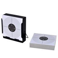 vidaXL mērķa turētājs, 14 cm, kvadrāta forma, 100 papīra mērķi