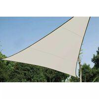 Perel saulessargs, trijstūra forma, 3,6 m, krēmkrāsas, GSS3360