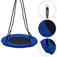 vidaXL šūpoles, 60 cm, 100 kg, zilas