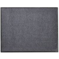 Pelēks Durvju Paklājs/Tepiķis PVC 90 x 120 cm