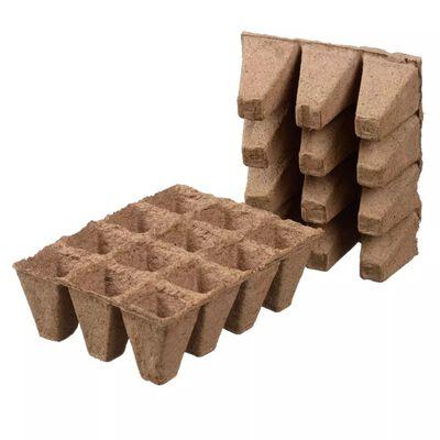 Nature kūdras podiņi, 144 gab., 4x4x5 cm, 6020128