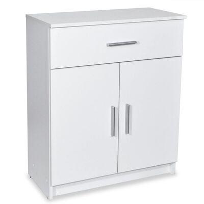 vidaXL skapītis, 71x35x88 cm, skaidu plāksne, balts
