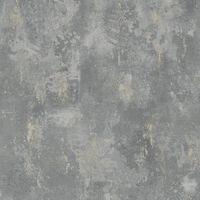 DUTCH WALLCOVERINGS tapete, betona apdruka, zaļa, TP1008