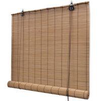 Bambusa Žalūzijas 120 x 160 cm Brūnas