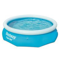 Bestway Fast Set piepūšamais baseins, apaļš, 305x76 cm, 57266
