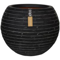 Capi vāze Nature Row, apaļa forma, 62x48 cm, antracītpelēka, KRWZ271