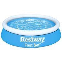 Bestway Fast Set piepūšamais baseins, apaļš, 183x51 cm, zils