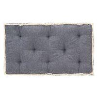 vidaXL palešu dīvāna matracis, 73x40x7 cm, zils